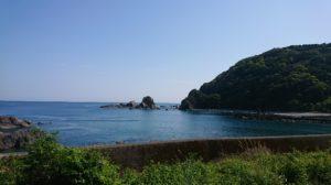 高知県土佐清水市の海岸
